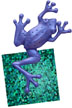 Swampdancer Frog Logo